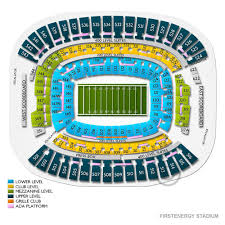 Cleveland Browns Stadium Seating Chart View Browns Tickets Cheap 2019 Browns Tickets Buy At Ticketcity