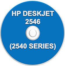 cd de instalação impressora hp deskjet 2546 2540 series