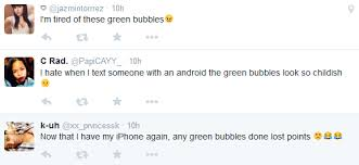 Green Text Bubble Green Bubbles How Apple Quietly Gets Iphone Users To Hate