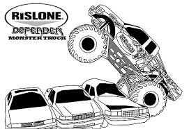 Small Picture Monster Truck Coloring Page Alric Coloring Pages