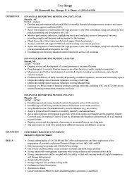 Financial Reporting Senior Analyst Resume Samples Velvet Jobs