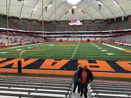 Syracuse Football Stadium Seating Chart 2019