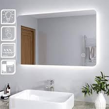 oem odm illuminated led bathroom mirror