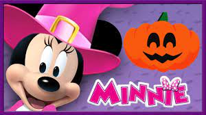 Minnie Mouse Halloween - Mickey Mouse Clubhouse 3D Color - Learn Colors -  Disney Junior Kids App - YouTube