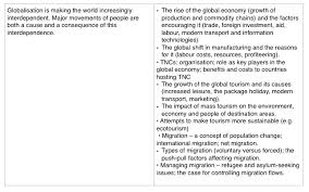 globalisation and migration geography globalisation and migration