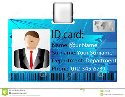 - Of Meeting Stock Card Identification Icon Illustration Vector 24752558