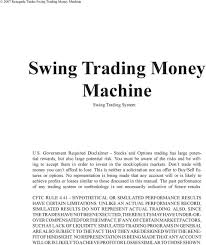Swing Trading Money Machine Pdf Free Download
