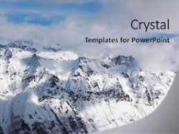 Snow Templates 4000 Snow Avalanche Powerpoint Templates W Snow Avalanche Themed