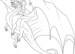 Awful Realistic Dragon Coloring Pages For Adults Freeintable