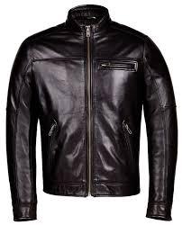 men s brown leather jacket