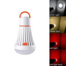 Red Light Camping Lantern Us 5 09 20 Off Portable Led Camping Lantern 4 Modes Hanging Tent Flashlight Hanging Led Task Light Equipment For Outdoor Hiking Emergencies In