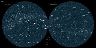 Northern Hemisphere Constellation Chart