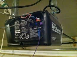 low cost high tech garage door opener weak signal interference from leds