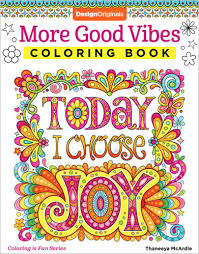 coloringbooks.  Coloringbooks More Good Vibes Coloring Book By Thaneeya McArdle Inside Coloringbooks L