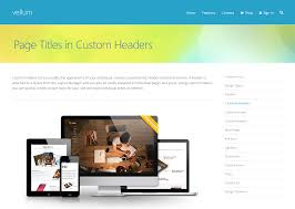 Custom Wordpress Header Design Creating A Header With A Background And Page Title