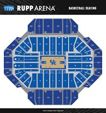 Kentucky Basketball Seating Chart Ukmbb Vs University Of Louisville Rupp Arena