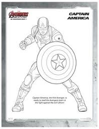 Small Picture Free Kids Printables Marvels The Avengers Age of Ultron