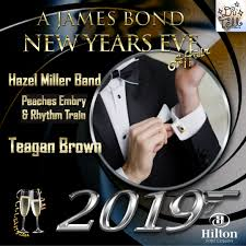 Usher In 2019 At A James Bond New Years Eve Affair Showcasing