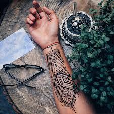 Menna Tetování Pro Muže Hennou Líbí Koulecz Lifestyle V