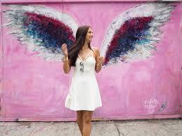 pink wings melrose avenue colette miller angel wings melrose avenue