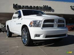 2011 Bright White Dodge Ram 1500 Sport Quad Cab 4x4 #39889199 ...