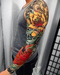 Japanese Ink At Japaneseink En Instagram Japanese Tattoo Sleeve
