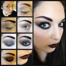 gothic makeup tutorial source