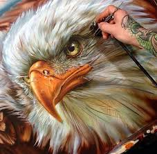 eagle painting by turcotte