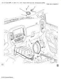 Dash speakers 2014 2018 silverado sierra mods gm trucks rh gm trucks bose wiring diagram gmc radio wiring diagram