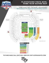 Peach Bowl 2018 Seating Chart Ucfiesta Knights To Play Lsu In Fiesta Bowl Ucf Athletics