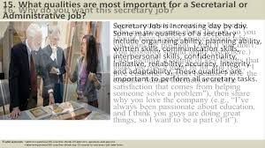 secretary interview questions and answers 134 secretary interview questions and answers