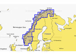 Navionics Norwegian Sea Byrknes To Roald Small