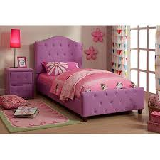 Diva Upholstered Twin Bed Purple Walmart
