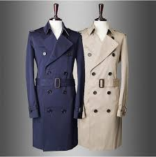 fashion brand trench coat men 2016 europe america style double ted mens coats and jackets colour