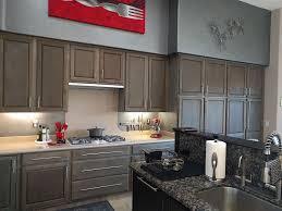 driftwood finish kitchen cabinets