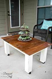 diy patio end table