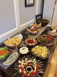 Picture Housewarming Party Spread Good To Be Cook in House Warming Party