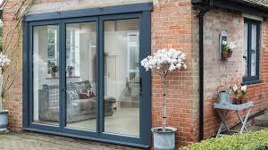 slimline aluminium doors
