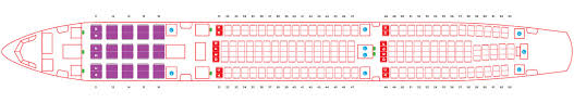 Airbus A330 Seating Chart Thai Airways Seat Options Hot Seats Standard Seats Twin Seats Airasia