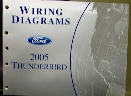 ford electrical wiring diagram service manual thunderbird 2005 ford electrical wiring diagram service manual thunderbird