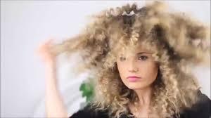 How To Make Straight Hair Into Fluffy Zig Zag Texture Hair Youtube