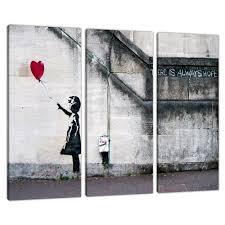 stunning design set of 3 wall art canvas amazon co uk large banksy prints uk red balloon girl 3050 arrow framed metal on amazon uk wall art canvas with stunning design set of 3 wall art canvas amazon co uk large banksy