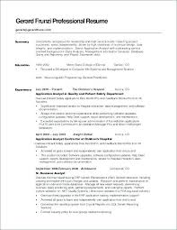 Good Summary For Resume Brave40 Classy Good Resume Summary