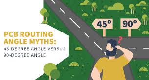 PCB Routing <b>Angle</b> Myths: 45-degree <b>Angle</b> Versus <b>90-degree</b> ...
