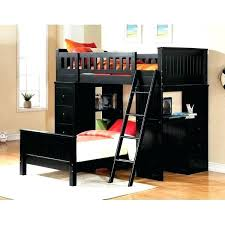 wood twin loft bed with desk berg enterprise twin over full bunk bed with desk and
