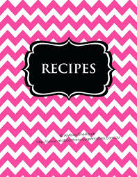 recipes cover page template. Delighful Cover Printable Recipe Book Template Editable Binder Sheet Card Recipes To Try Cover  Page Pr  Intended Recipes Cover Page Template R