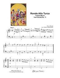 Feel free to recommend similar pieces if you liked this piece, or alternatives if you didn't. Rondo Alla Turca Turkish March Mozart Free Piano Sheet Music Pdf