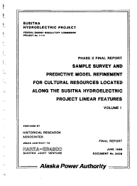 Description Phase Ii Final Report Sample Survey And