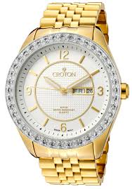 watches men s two tone stainless steel cn307279ylsl croton watches men s two tone stainless steel cn307279ylsl