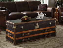 steamer trunk coffee table pottery full size of
